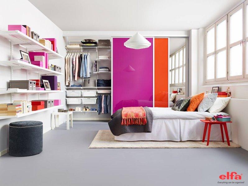 Bedroom - Inspiration | Closet - Shelves - Baskets