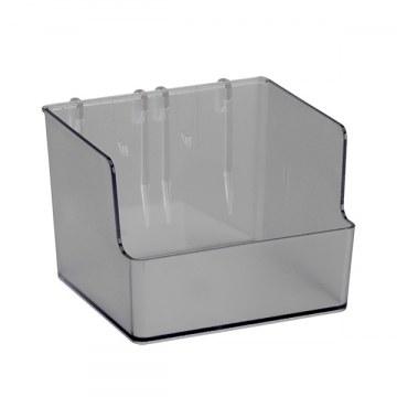 Box länglich f. Lochplatte/Lochleiste