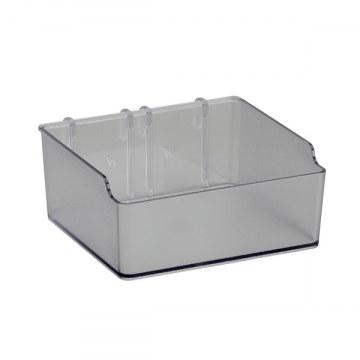 Box quadratisch f. Lochplatte/Lochleiste